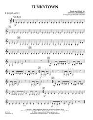 Funkytown - Bb Bass Clarinet