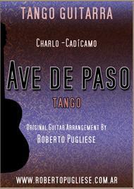 Ave de paso - Tango (Charlo - Cadicamo)