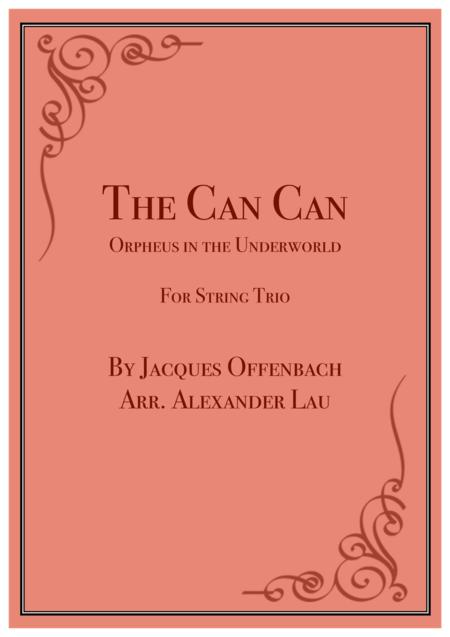 The Can Can: Orpheus in the Underworld