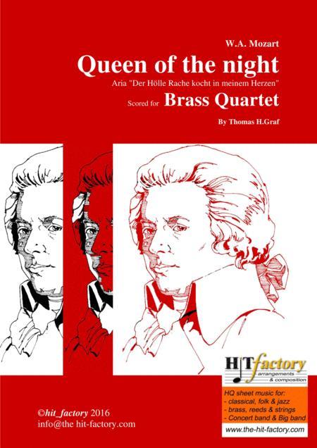 The Magic Flute - Mozart - Queen of the night - Brass Quartet