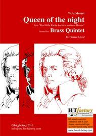 The Magic Flute - Mozart - Queen of the night - Brass Quintet