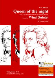 The Magic Flute - Mozart - Queen of the night - Saxophone Quartet