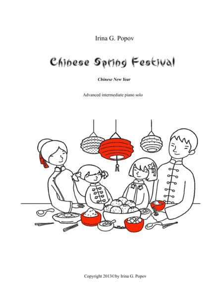 Chinese Spring Festival. Chinese New Year.