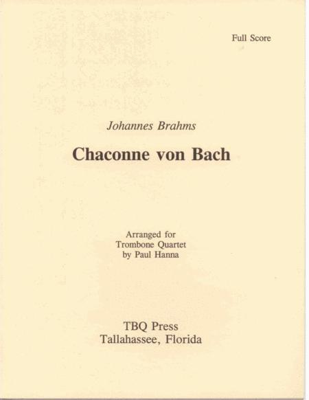Chaconne von Bach