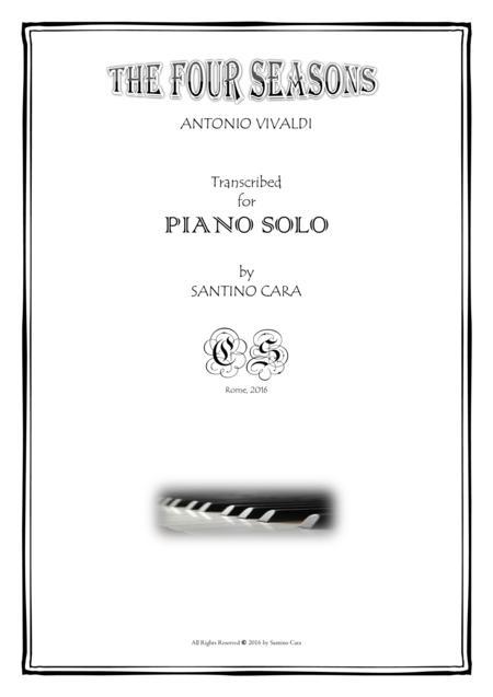 Vivaldi - The Four Seasons for Piano - Complete