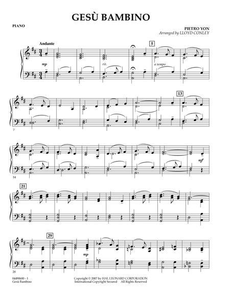 Gesu Bambino - Piano