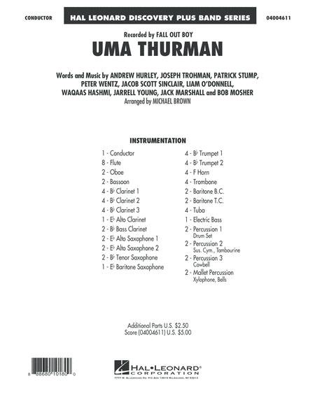 Uma Thurman - Conductor Score (Full Score)
