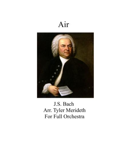 Air from Second Movement of Orchestral Suite No. 3 BWV 1068
