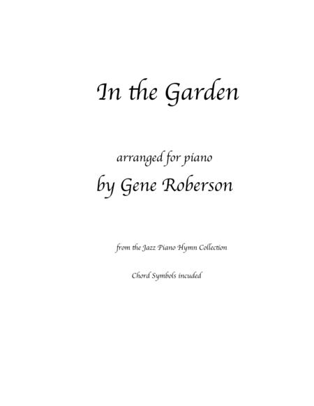 In the Garden Jazz piano collection