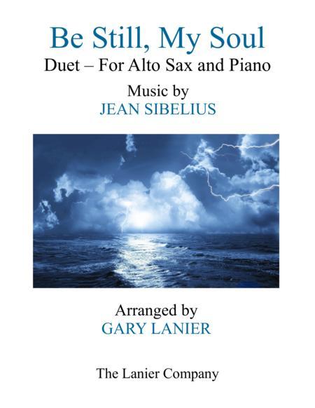 BE STILL, MY SOUL (Findlandia) Duet – Alto Sax & Piano with Parts