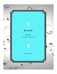 Barcarolle - piano solo