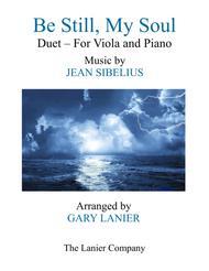BE STILL, MY SOUL (Findlandia) Duet – Viola & Piano with Parts