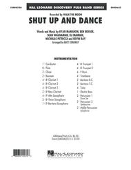 Shut Up And Dance - Conductor Score (Full Score)
