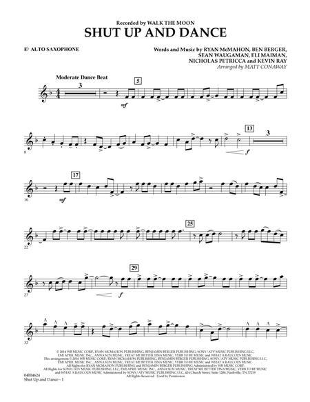 Shut Up And Dance - Eb Alto Saxophone