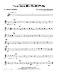 Theme from Jurassic Park - Eb Baritone Saxophone