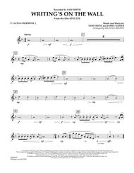 Writing's on the Wall (from Spectre) - Eb Alto Saxophone 2