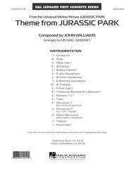 Theme from Jurassic Park - Conductor Score (Full Score)