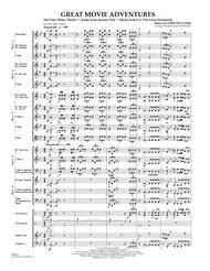 Great Movie Adventures (Flex-Band) - Conductor Score (Full Score)