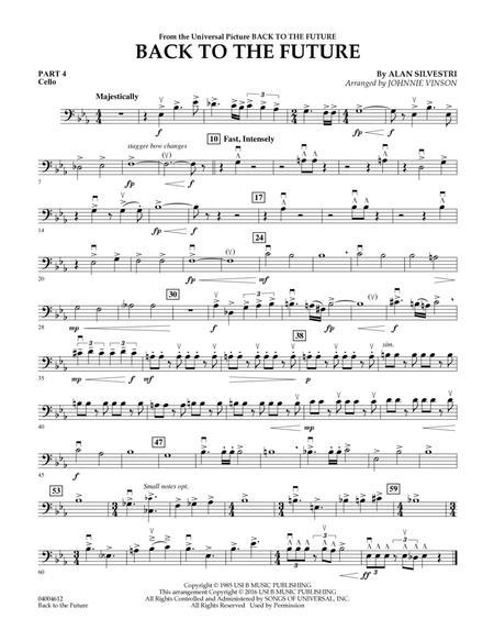 Back to the Future (Main Theme) - Pt.4 - Cello