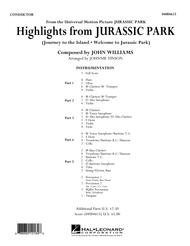 Highlights from Jurassic Park - Conductor Score (Full Score)