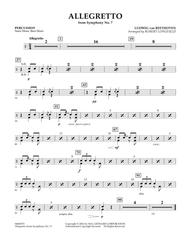 Allegretto (from Symphony No. 7) - Percussion