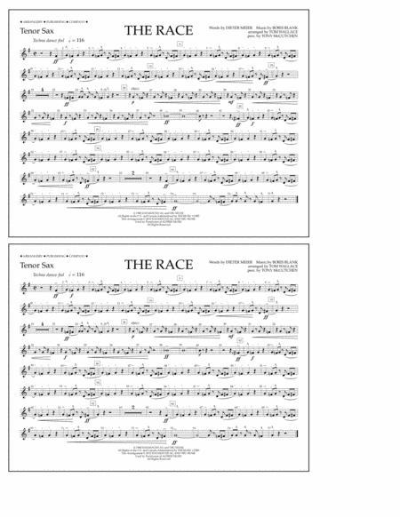 The Race - Tenor Sax