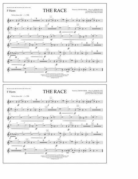 The Race - F Horn