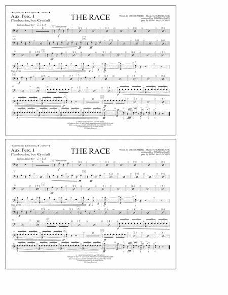 The Race - Aux. Perc. 1