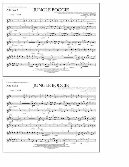 Jungle Boogie - Alto Sax 2
