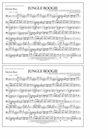 Jungle Boogie - Electric Bass