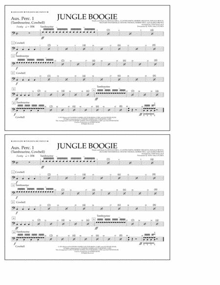 Jungle Boogie - Aux. Perc. 1