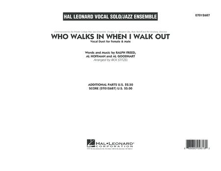 Who Walks In When I Walk Out? (Key: D minor) - Conductor Score (Full Score)