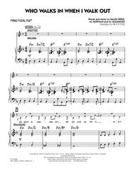 Who Walks In When I Walk Out? (Key: D minor) - Piano/Vocal Duet