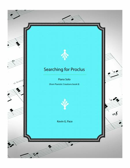 Searching for Proclus - advanced piano solo