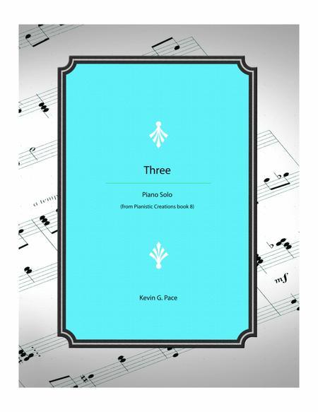 Three - piano solo