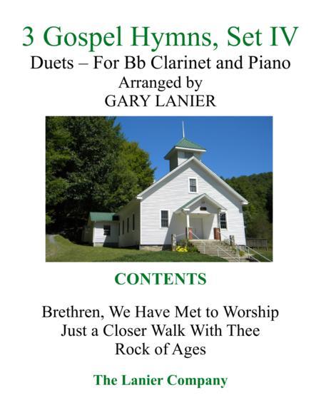 Gary Lanier: 3 GOSPEL HYMNS, Set IV (Duets for Bb Clarinet & Piano)