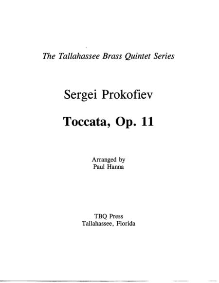 Toccata, Op. 11