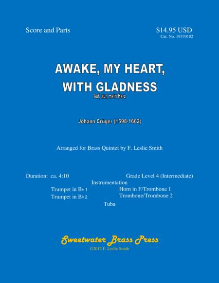 Awake, My Heart, with Gladness