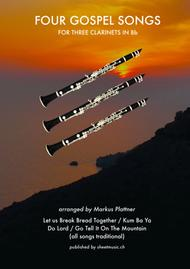 'Oh Them Gospel Clarinets' for 3 Clarinets in Bb