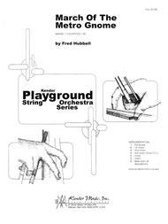 March Of The Metro Gnome - Full Score