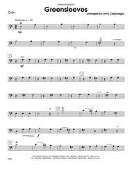 Greensleeves - Cello