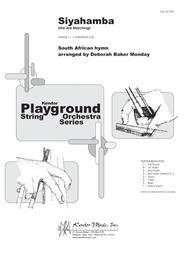 Siyahamba (We Are Marching) - Full Score