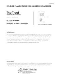 Trout, The (Die Forelle, Movement IV) - Full Score