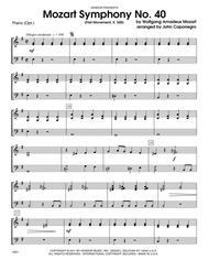Mozart Symphony No. 40 (First Movement, K. 550) - Piano