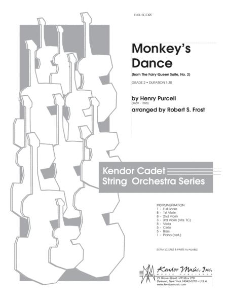 Monkey's Dance (from The Fairy Queen Suite, No. 2) - Full Score