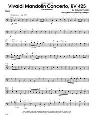 Vivaldi Mandolin Concerto, RV 425 (1st Movement) - Bass