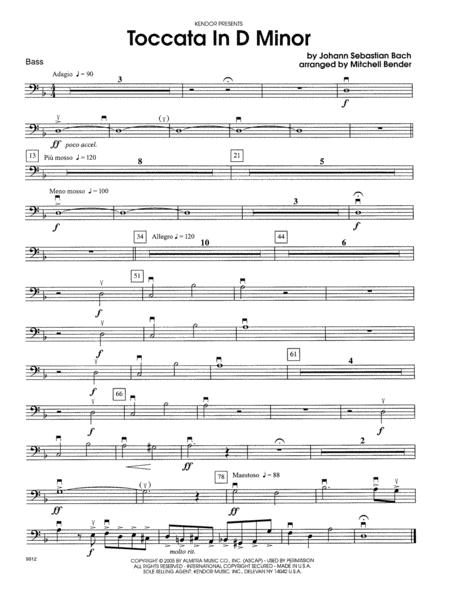 Toccata in D Minor - Bass