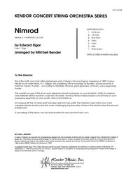 Nimrod - Full Score