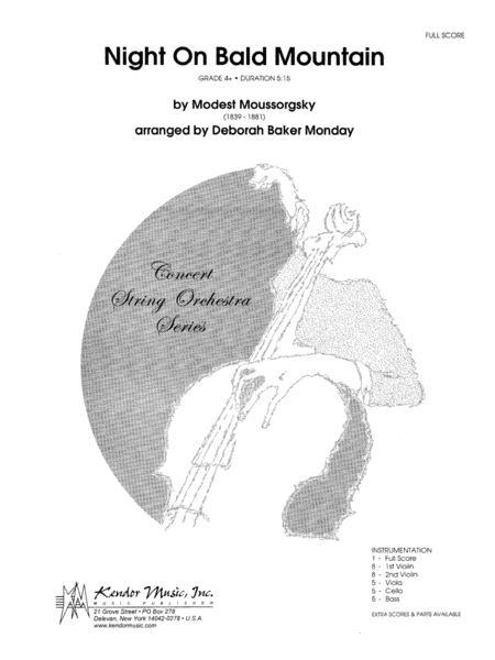 Night On Bald Mountain - Full Score