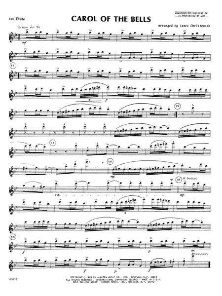 Carol of the Bells - Flute 1